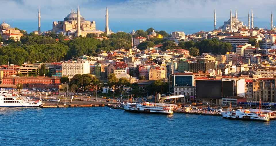 panorama di istanbul, acquista uno dei voli napoli istanbul