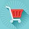 shopping cart, carrello