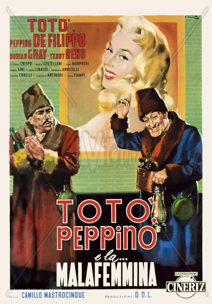 film totò: totò, peppino e la malafemmina