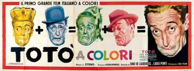 film totò: totò a colori