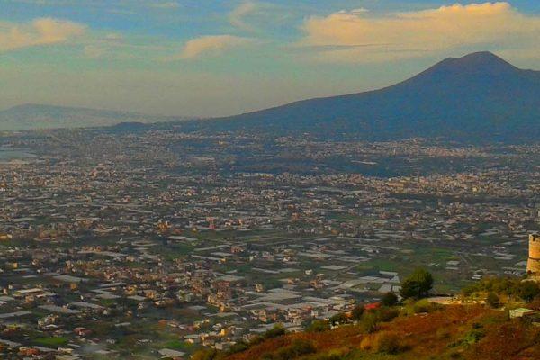il vesuvio, il vulcano di napoli