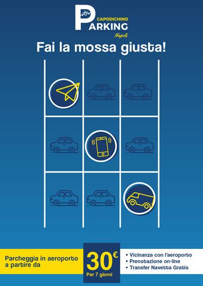 capodichino parking, parcheggio aeroporto napoli