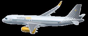 aereo della compagnia aerea vueling