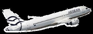 aereo della aegean airlines