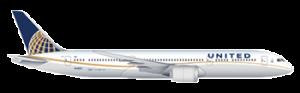 aereo della united airlines per i voli napoli new york