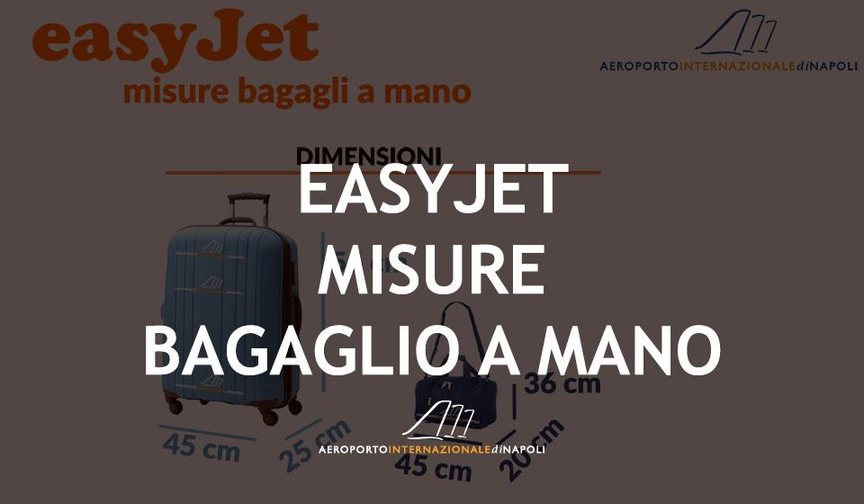 misure del bagaglio a mano sui voli easyjet