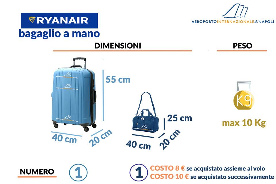 il bagaglio a mano di ryanair