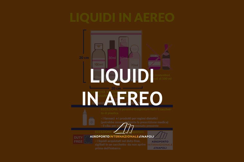 liquidi in aereo