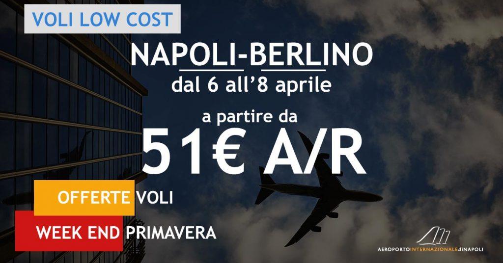 voli low cost napoli berlino a 51€