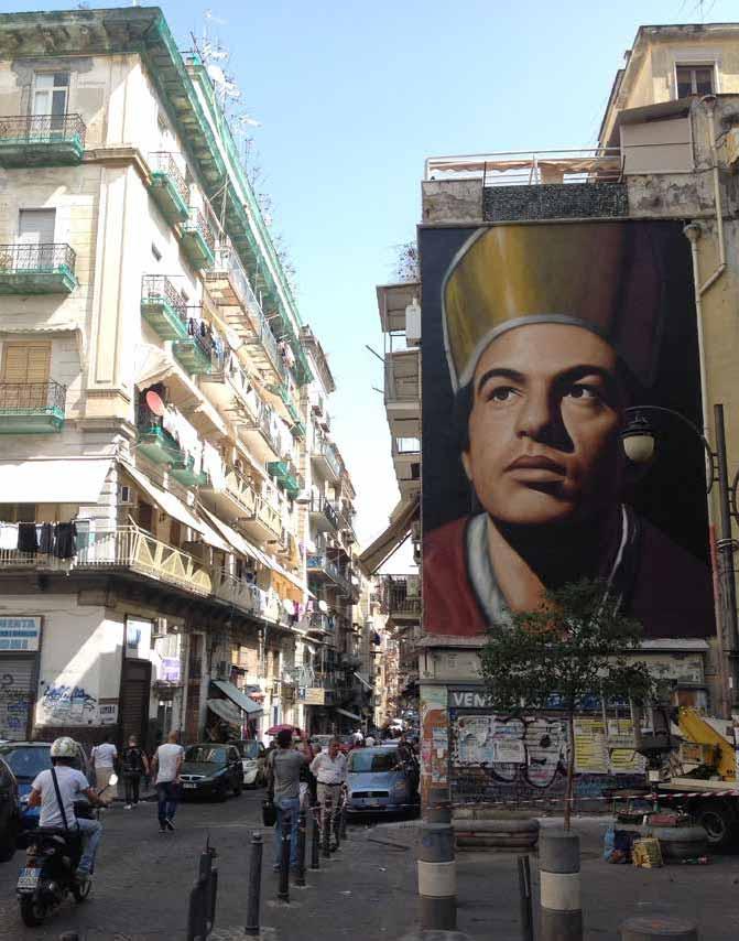 murales a napoli, san gennaro