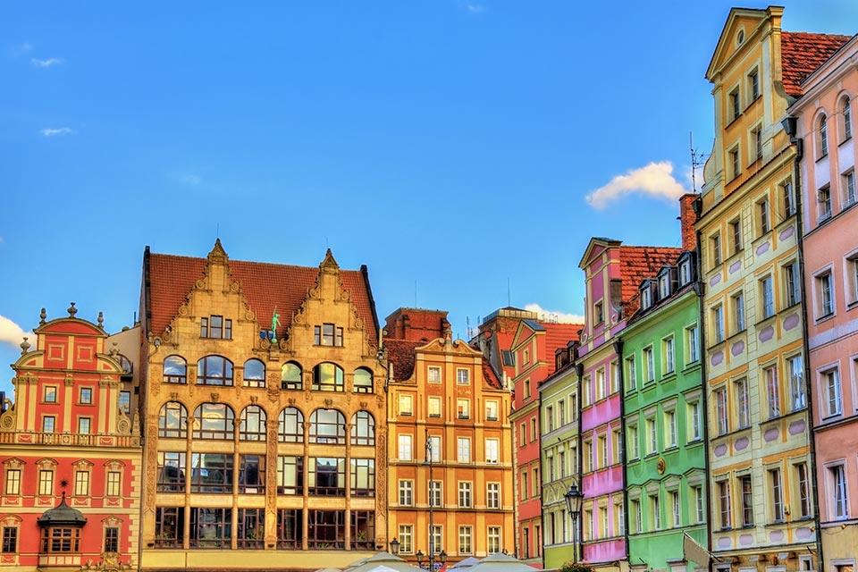 acquista uno dei voli napoli Breslavia Wroclaw dall'aeroporto di napoli