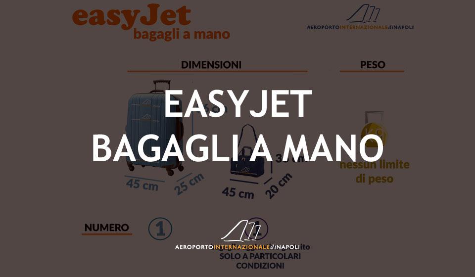 info sui bagagli a mano del vettore easyjet